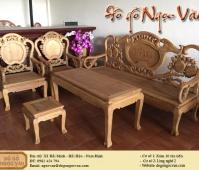 Salon Guột đào gỗ gụ